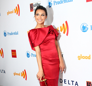Naya Rivera @ the GLAAD Awards, NYC - March 2012