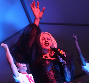 Cyndi Lauper @ Stiletto Pride 2012 for Time Out NY