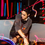 Samantha Ronson DJing the Dalloway opening for Time Out NY