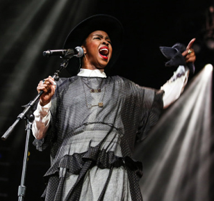 Lauryn Hill @ Barclays Center Feb. 2014